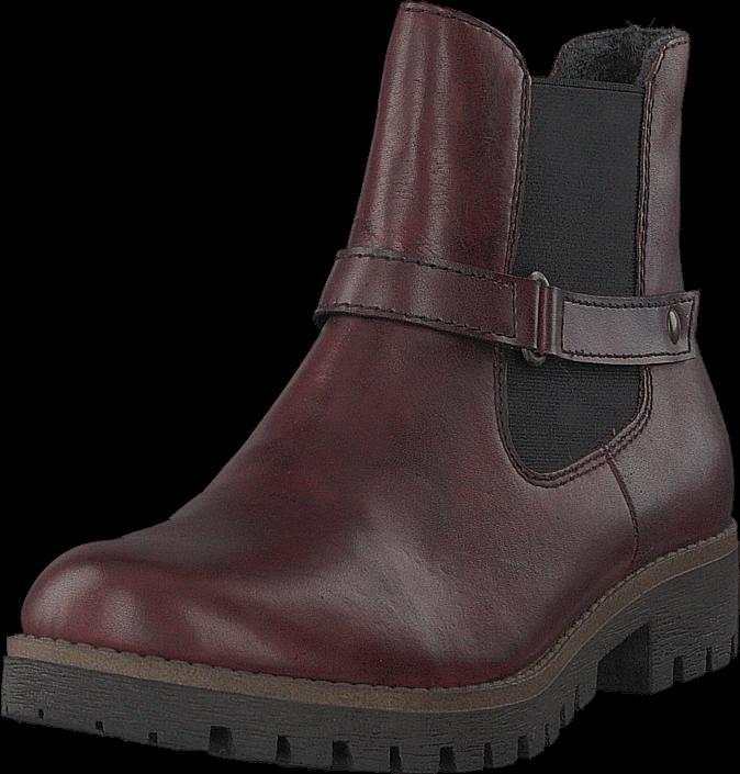 Rieker 78562-35 Medoc, Sko, Boots, Chelsea boots, Lilla, Dame, 36