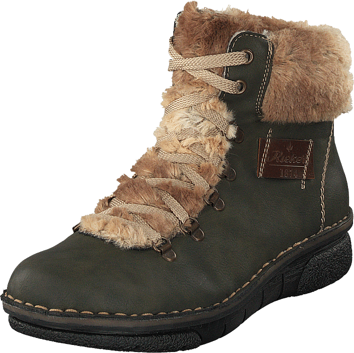 Rieker 73343-54 Forest, Sko, Boots, Kraftige støvler, Brun, Dame, 36