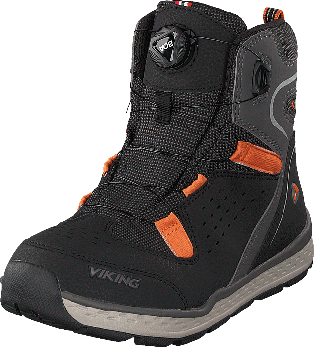 Viking Espo Boa Gtx Black/rust, Sko, Boots, Vandreboots, Grå, Unisex, 28