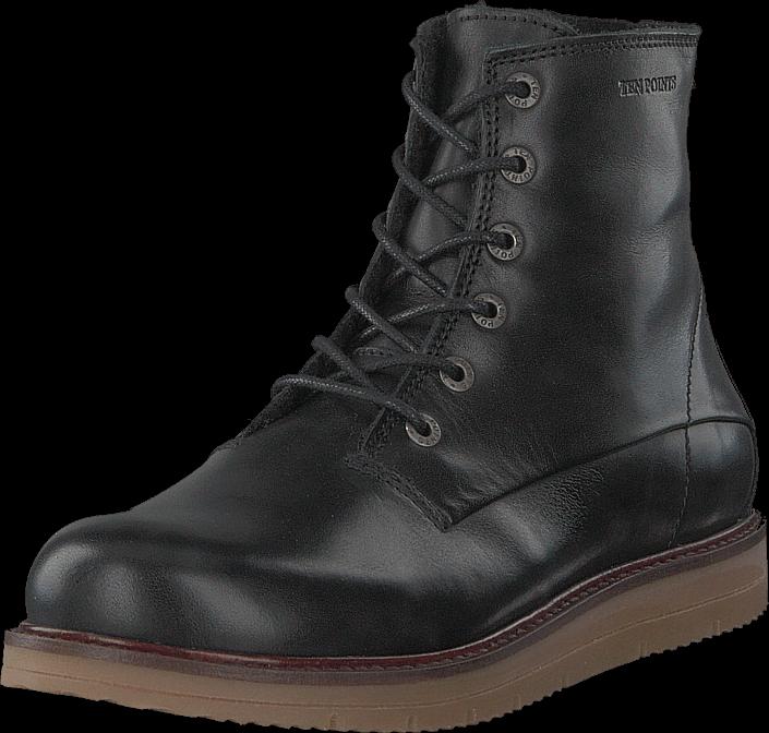 Footway SE - Ten Points Carina Black, Skor, Kängor & Boots, Chelsea Boots, Svart, Dam, 37 1197.00
