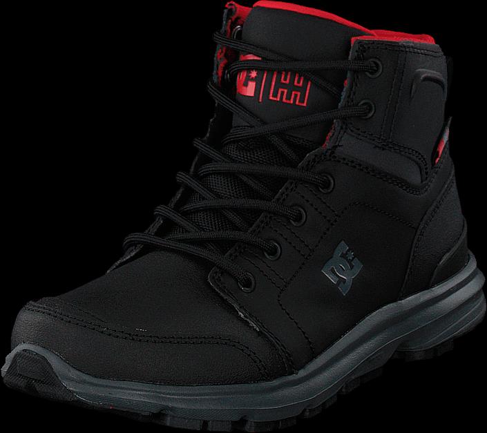 DC Shoes - Torstein Black/grey/red