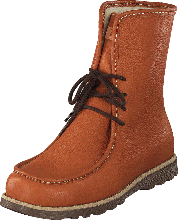 Kavat Töre Ep Light Brown, Sko, Boots, Varmforet boots, Orange, Unisex, 36