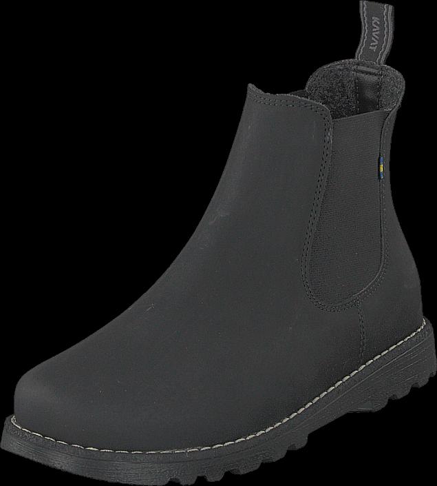Kavat Bodås Jr Xc Black, Sko, Boots, Chelsea boots, Svart, Unisex, 28