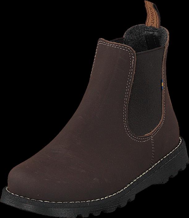 Kavat Bodås Jr Xc Dark Brown, Sko, Boots, Chelsea boots, Brun, Unisex, 28
