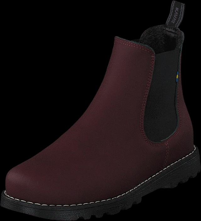 Kavat Bodås Jr Xc Bordeaux, Sko, Boots, Chelsea boots, Lilla, Unisex, 28