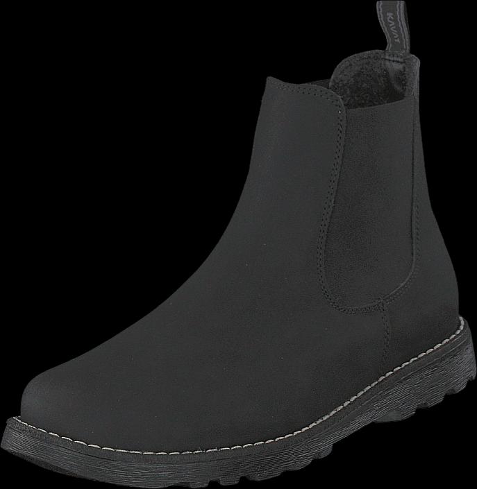 Kavat Bodås Xc Black, Sko, Boots, Chelsea boots, Svart, Unisex, 36