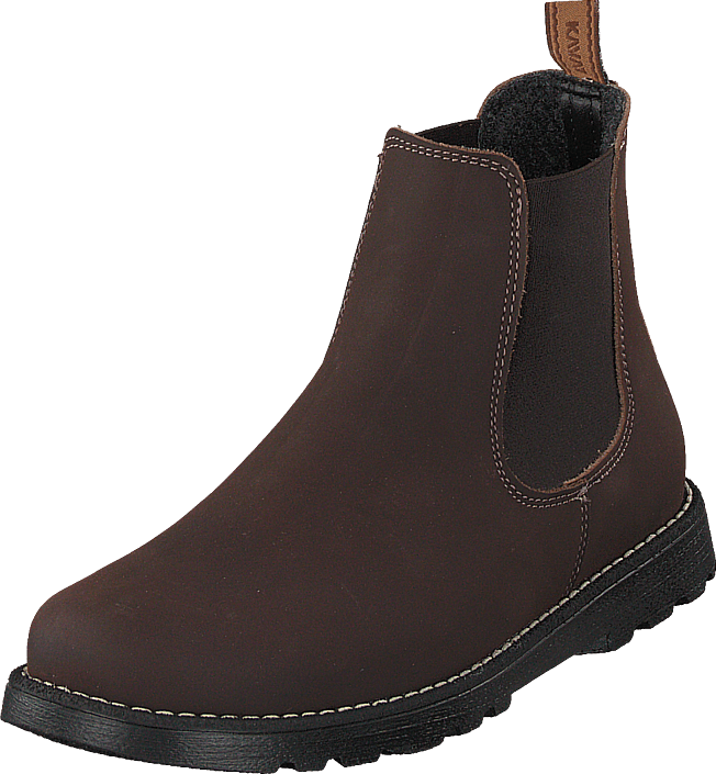 Kavat Bodås Xc Dark Brown, Sko, Boots, Chelsea boots, Brun, Unisex, 36