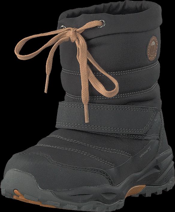 Pax Pingu Black, Sko, Boots, Varmforet boots, Svart, Unisex, 22