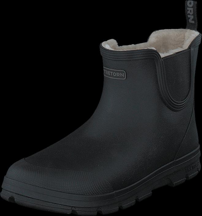 Tretorn Aktiv Chelsea Winter Black, Sko, Boots, Chelsea boots, Grå, Unisex, 38
