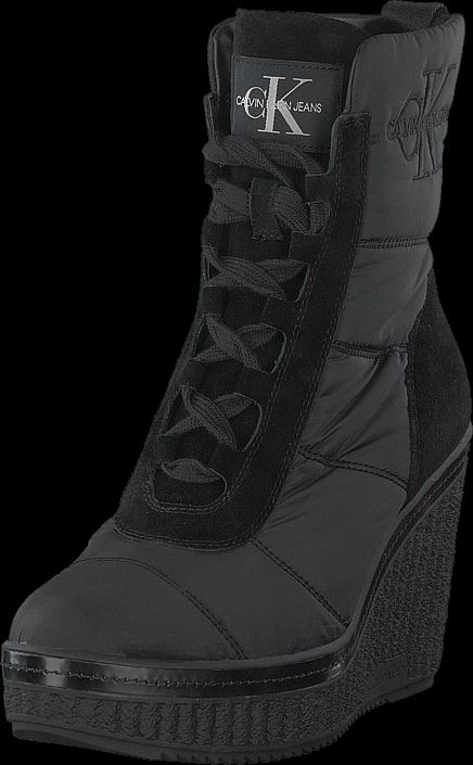 f355b5ca Calvin Klein Jeans Sole Black, Sko, Støvler & Støvletter, Høye støvletter,  Svart