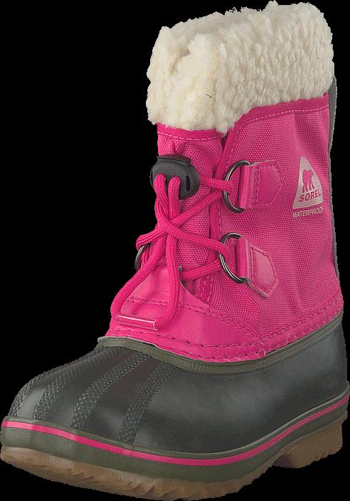 Footway SE - Sorel Yoot Pac Nylon 693, Ultra Pink, Alpine Tundra, Skor, Kängor & Boots, Varmf 747.00