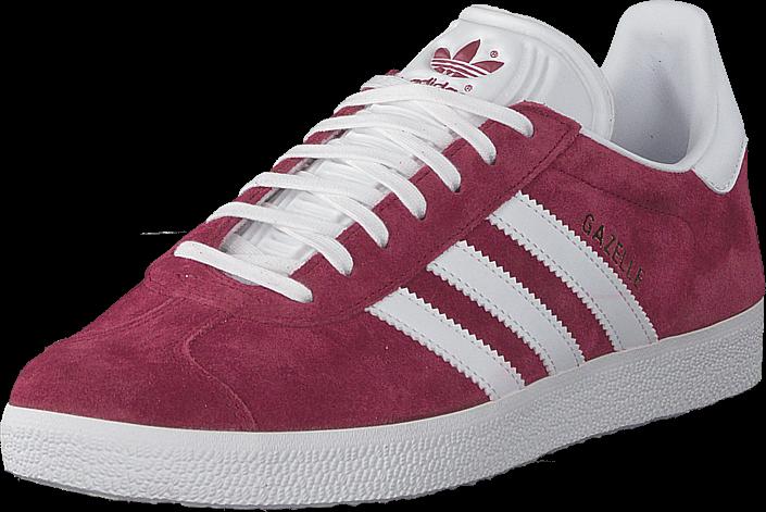 new style d05c6 8668c adidas Originals Gazelle Cburgu ftwwht goldmt, Skor, Sneakers   Sportskor,  Sneakers, Rosa, Röd, Unisex, 43 · adidas Originals