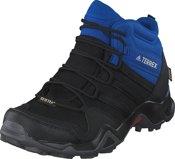 adidas Sport Performance Terrex Ax2r Mid Gtx Cblack/cblack/blubea, Skor, Kängor & Boots, Vandringskängor, Blå, Svart, Herr, 45