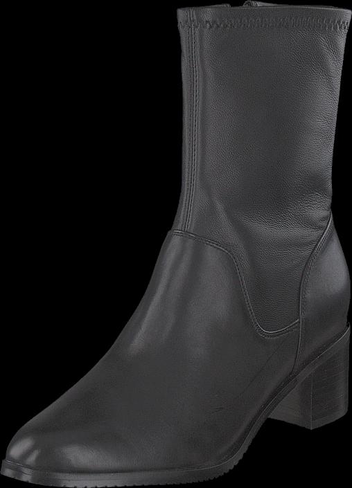 Footway SE - Clarks Poise Leah Black Leather, Skor, Stövlar & Stövletter, Höga stövletter, Gr 1647.00