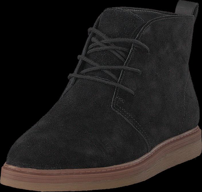 Footway SE - Clarks Dove Roxana Black Sde, Skor, Kängor & Boots, Curlingkängor, Svart, Dam, 3 997.00