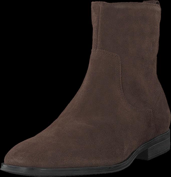 Footway SE - Clarks Gilman Zip Dark Brown Suede, Skor, Kängor & Boots, Höga kängor, Brun, Her 1297.00