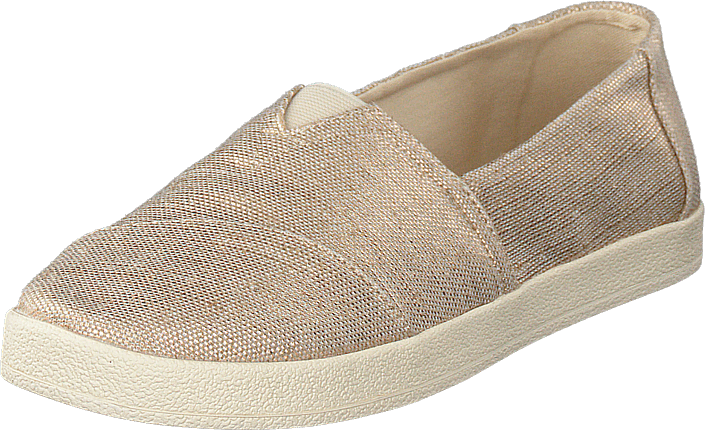 Toms Avalon Rose Gold Metallic, Skor, Lågskor, Slip on, Beige, Dam, 38