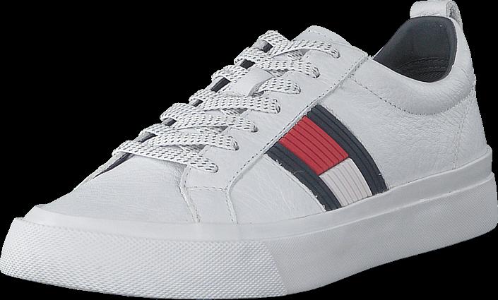 Footway SE - Tommy Hilfiger Leon 5 White, Skor, Sneakers & Sportskor, Sneakers, Vit, Herr, 43 1097.00