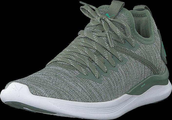 Puma - Ignite Flash Evoknit Wns Wreath-quarry-biscay Green