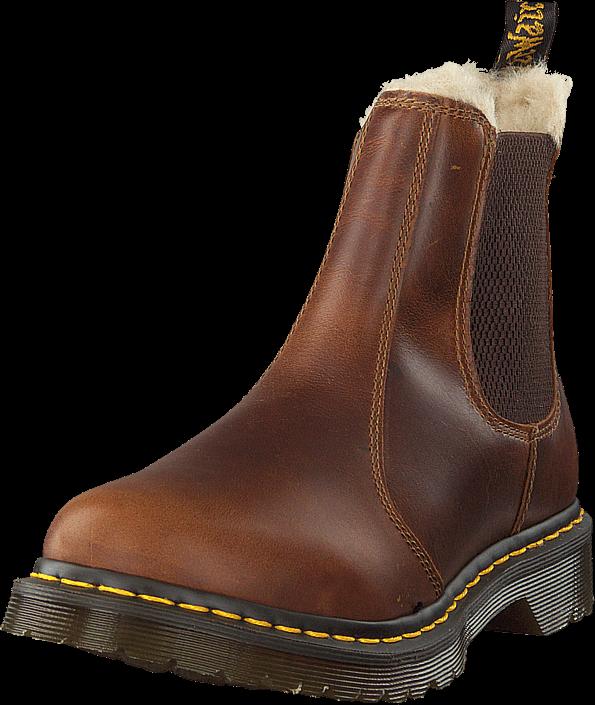 Dr Martens Leonore Butterscotch, Sko, Boots & Støvler, Chelsea boots, Brun, Dame, 40