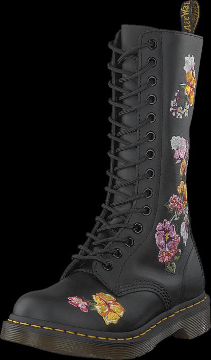 Dr Martens 1914 Vonda Black, Sko, Støvler & Støvletter, Lange støvler med varmt for, Grå, Dame, 36