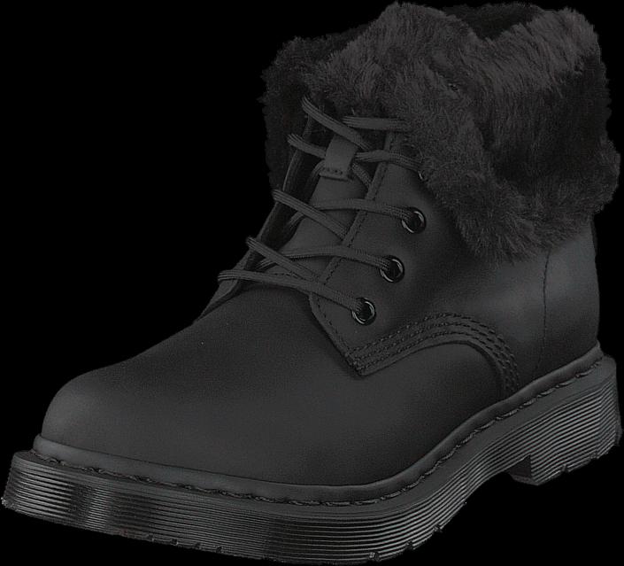 Dr Martens 1460 Kolbert Black, Sko, Boots & Støvler, Kraftige støvler, Sort, Dame, 37