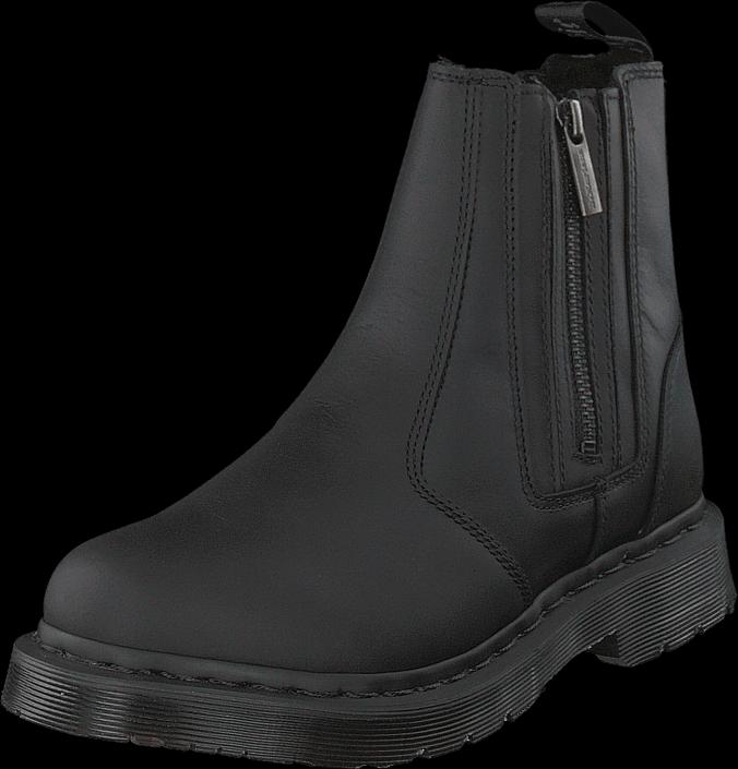 Dr Martens 2976 Alyson W/zips Black, Sko, Boots & Støvler, Chelsea boots, Sort, Dame, 38
