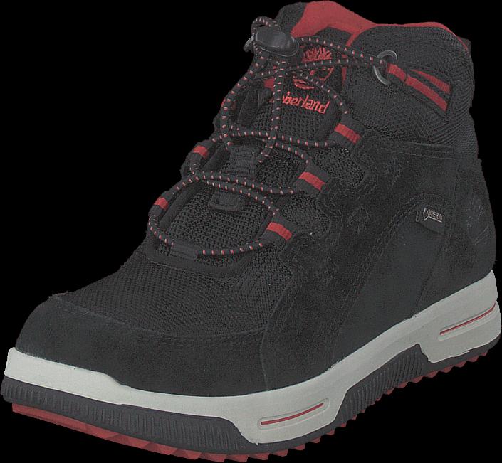 Timberland City Stomper Black Suede, Sko, Boots & Støvler, Vandrestøvler, Sort, Unisex, 34