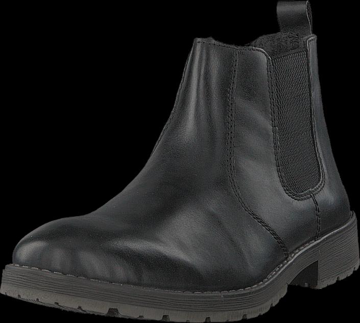 Rieker 33354-00 Black, Sko, Boots, Chelsea boots, Svart, Herre, 41