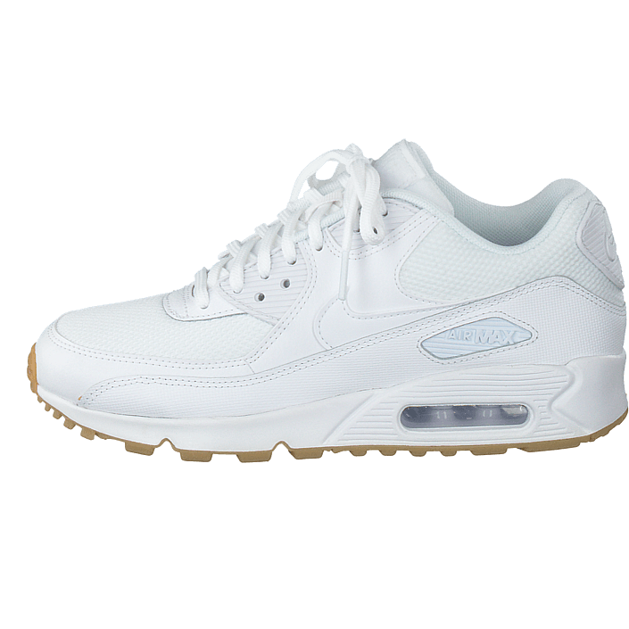 finest selection d8a81 0b634 ... new arrivals kjøp nike wmns air max 90 white gum light brown hvite sko  online brandos