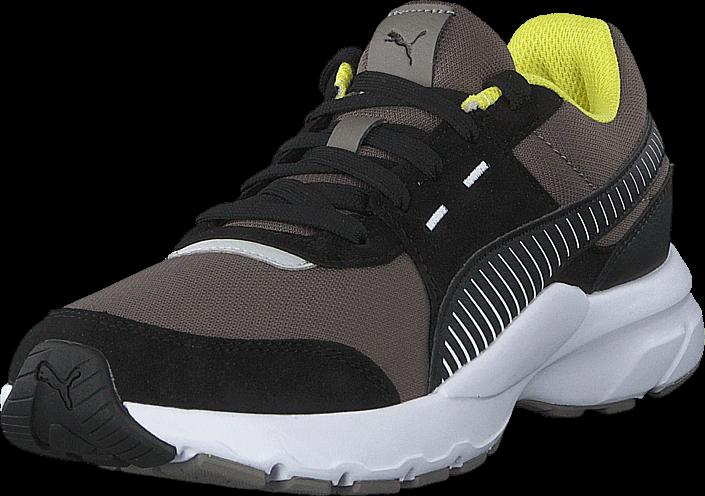 Puma Future Runner Charcoal Gray-puma Black-white, Sko, Sneakers & Sportsko, Løpesko, Grå, Unisex, 40