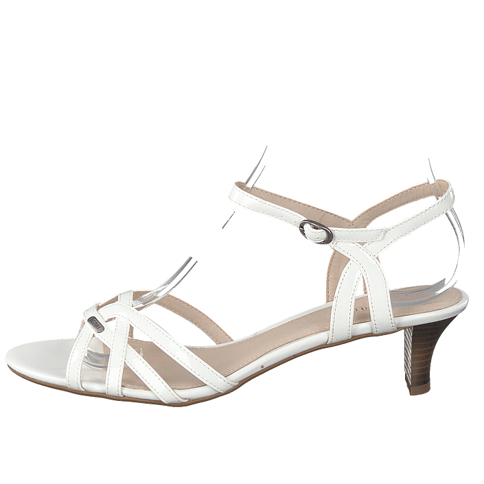 ad66d568 Kjøp Esprit Birk Sandal White hvite Sko Online | BRANDOS.no
