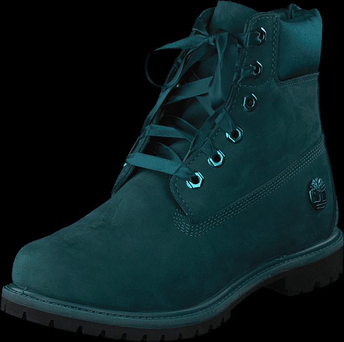 Timberland 6in Premium Wp Boot L/satin Deep Teal Waterbuck, Sko, Boots & Støvler, Kraftige støvler, Turkis, Dame, 39