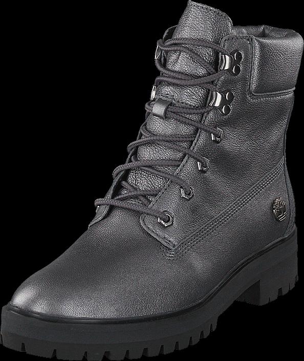Timberland London Square 6inch Boots Dark Grey Akita, Sko, Boots & Støvler, Kraftige støvler, Grå, Dame, 37