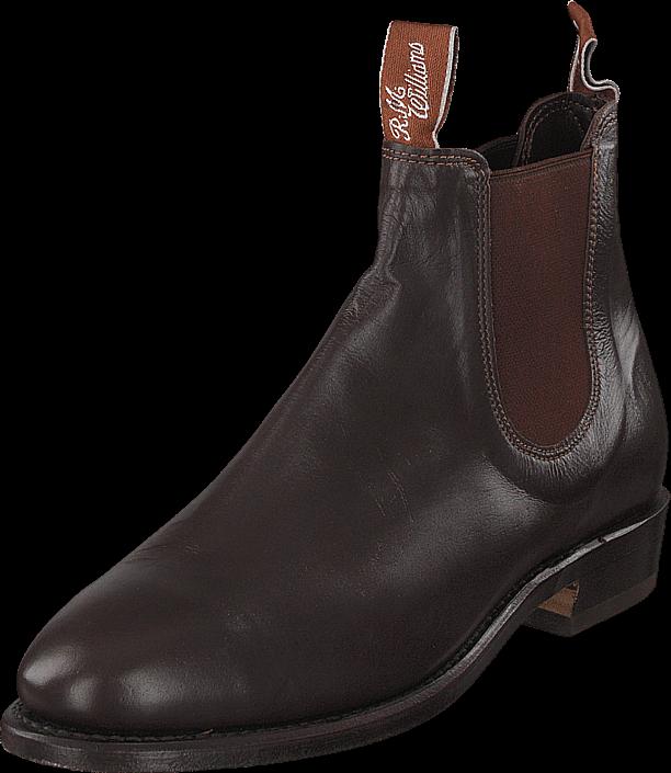 RM Williams Kangaroo Adelaide (G Fit) Chestnut, Sko, Boots & Støvler, Chelsea boots, Brun, Dame, 35