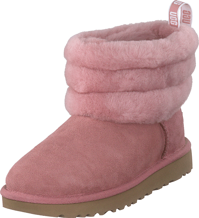 UGG Fluff Mini Quilted Pink Dawn, Skor, Kängor & Boots, Fårskinnsstövlar, Rosa, Dam, 36